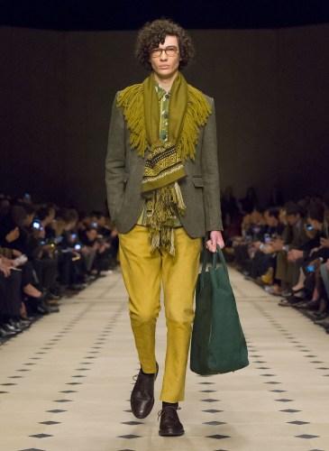 Burberry Prorsum Menswear Autumn_Winter 2015 Collection - Look 4