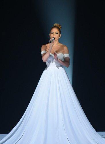 Jennifer-Lopez-White-Ball-Gown-American-Idol