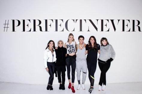 Reebok And Gigi Hadid Present #PerfectNever Revolution