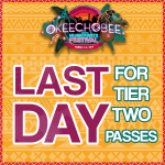 Last Day for Tier Two Okeechobee