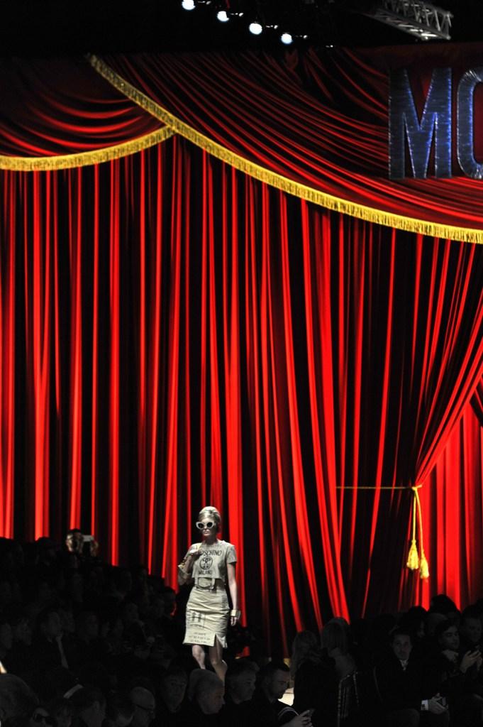 Moschino - Milan Fashion Week FW17 © Brian George