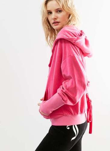 UO X Juicy Pink Hoodie.2