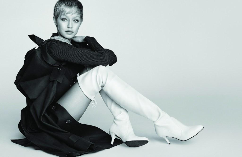 New Season, New Look: Gigi Hadid Is Transformed in Stuart Weitzman's F/W 2017 Ad Campaign