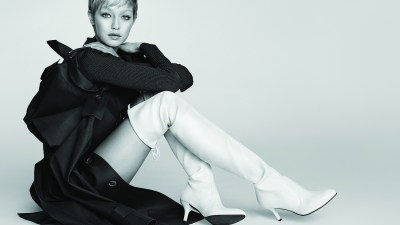 New Season, New Look: Gigi Hadid Is Transformed in Stuart Weitzman's F/W 2017 Ad Campaign