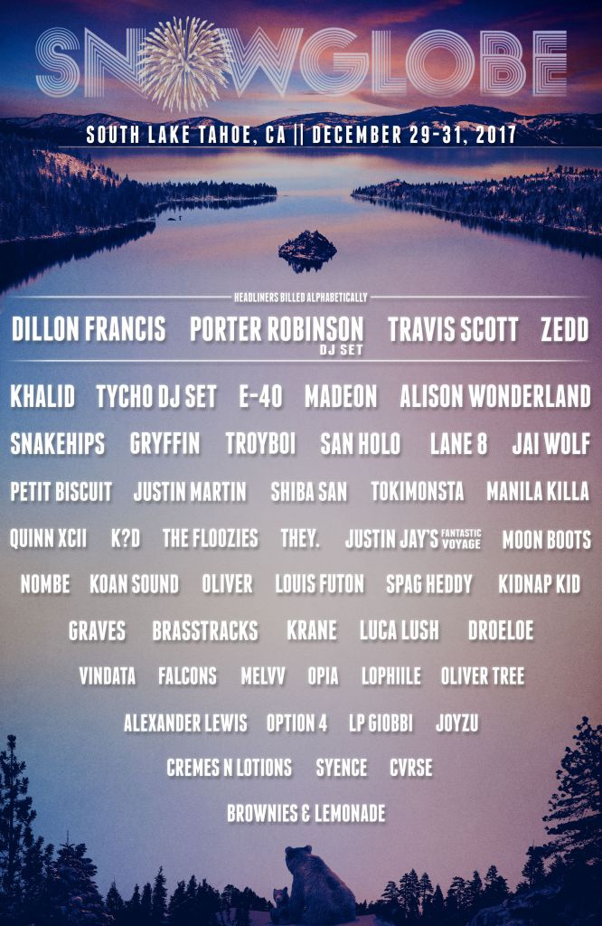 SnowGlobe Returns To South Lake Tahoe To Ring In 2018
