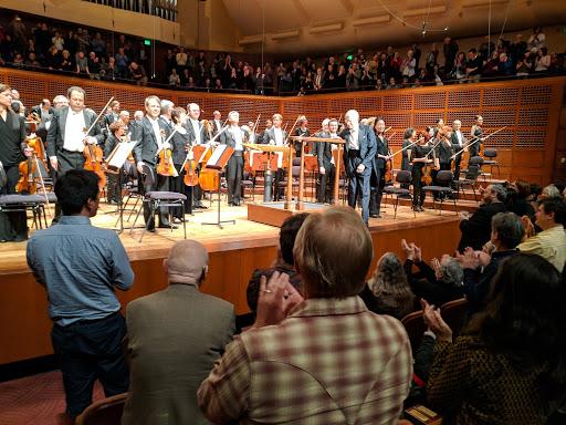 Symphony night in San Francisco