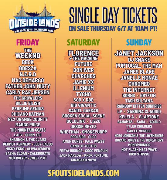 Outsidelands are coming!