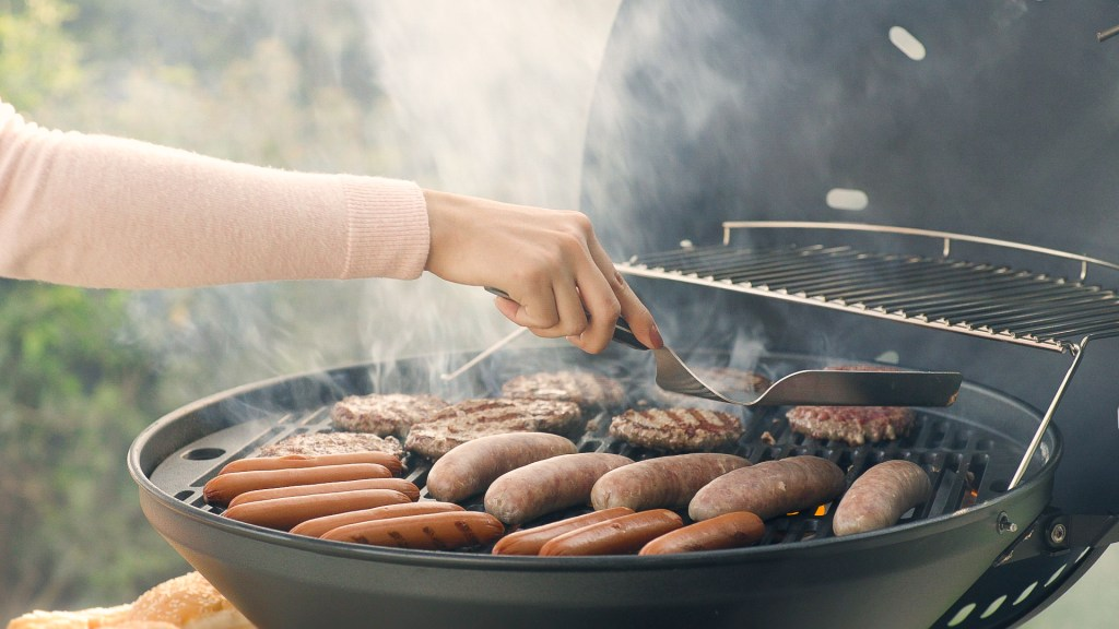 Barbecue fun, taste, ease of cooking and burns to heal.