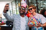 Irie and Food God, Jonathan Cheban, at Turn Down for Brunch