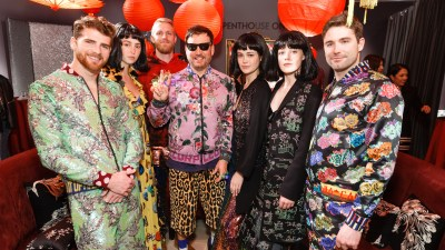 Neiman Marcus Celebrates Anniversary of Libertine Day in SF with Johnson Harti