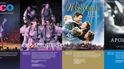 THE SAN FRANCISCO SYMPHONY'S ANNUAL FILM SERIES FEATURES SCREENINGS OF DISNEY AND PIXAR's COCO, SONY PICTURES' GHOSTBUSTERS, FRANK CAPRA'S IT'S A WONDERFUL LIFE, AND RON HOWARD'S APOLLO 13 PERFORMED LIVE TO PICTURE 2019–20 season also includes performances of Get Out and Love Actually…
