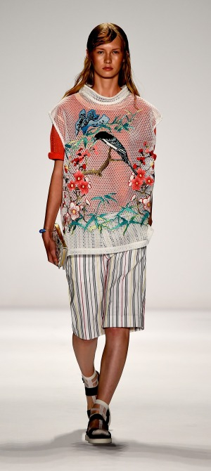 VIVIENNE TAM at MERCEDES-BENZ New York FASHION WEEK S/S15