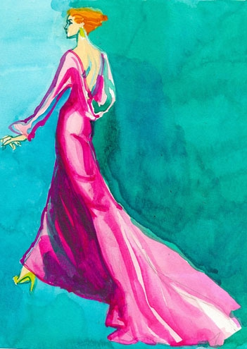 Fashion Illustrations – America's Hidden Treasure – Offer Large Potential Returns for Contemporary Art Collectors