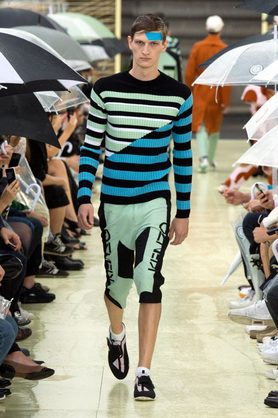 Kenzo SS15 @ Paris Fashion Week: Men