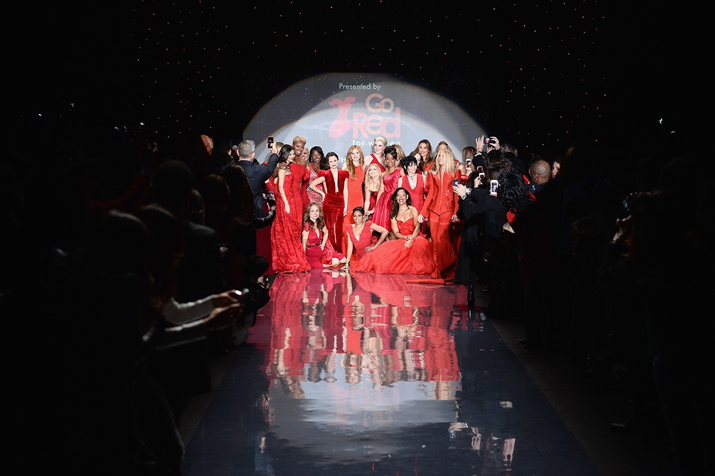 Stars Sizzle And Designers Shine At The Go Red For Women® / The Heart Truth® Red Dress Collection. Fashion Show Kicking Off Mercedes-Benz Fashion Week
