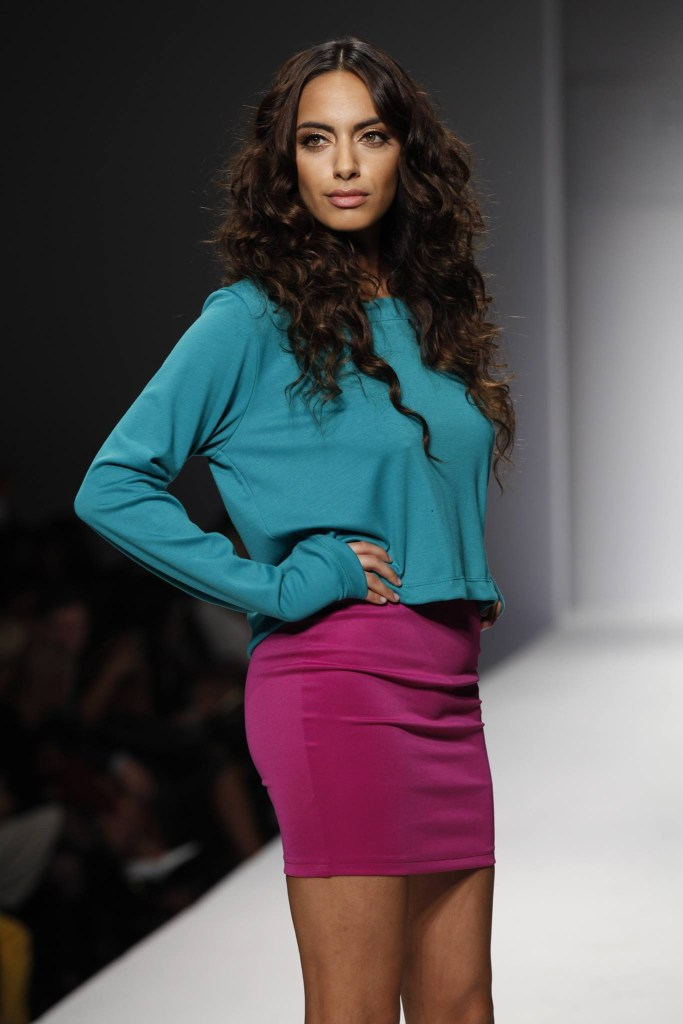 Designer R.Michele at LA Style Fashion Week