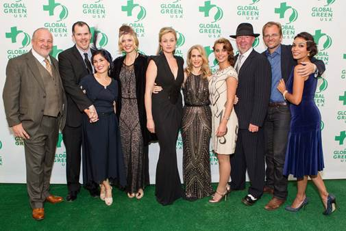 "Rosario Dawson & Maggie Grace Host Sold-Out Global Green's 9th Annual ""Gorgeous & Green Gala"" in SF"