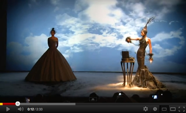 Watch Franck Sorbier propel Haute Couture to the 21st Century with Intel