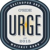 O'Side Urge Gastropub and Whiskey Bank Logo