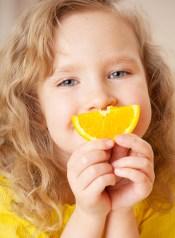 Orange Slice Smile