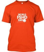 World FSHD Day t-shirt