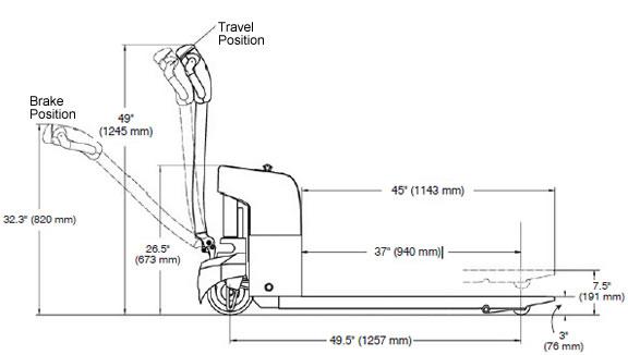 EPJ-30 Electric Pallet Truck, Pallet Trucks, Walkie Pallet