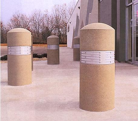 Bollard with Lighting, Bollards, Concrete Bollards