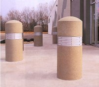 Bollard with Lighting, Bollards, Concrete Bollards