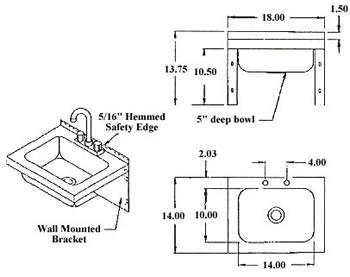 Sinks, NSF Sinks, Stainless Steel Sink, Utility Sinks
