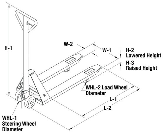 Stainless Steel Manual High Lifts, Stainless Steel