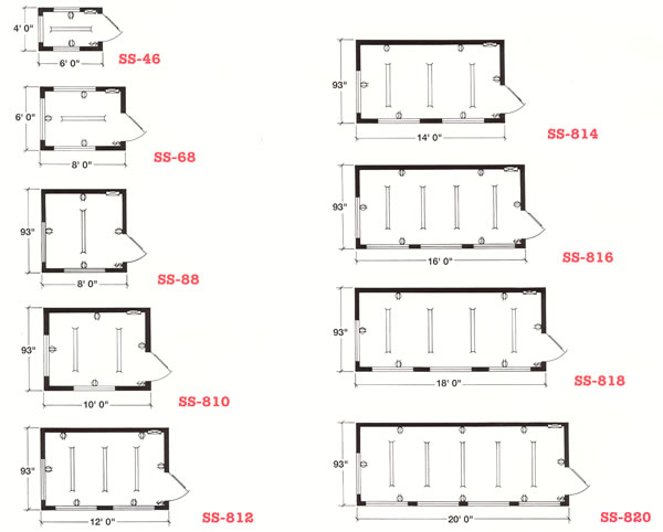 Forkliftable Buildings, Guard Shack, Pre Assembled Buildings