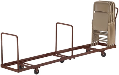 folding chair dolly 50 capacity ergonomic without wheels hanging folded storage trucks, moving, dollies, ...