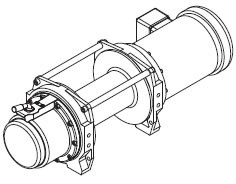 WF Series AC Electric Winches, Powered Winches, Power
