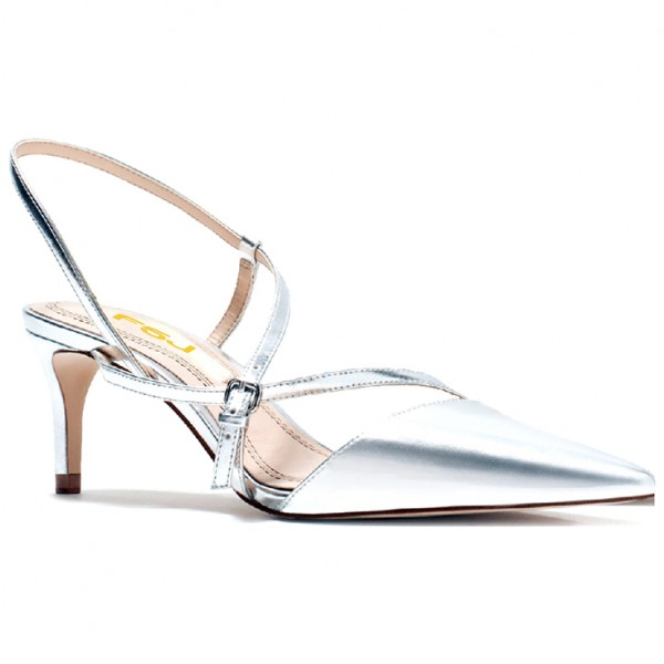 silver stiletto heels strappy