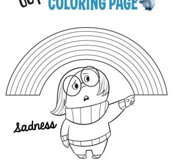Inside Out Coloring Pages, Activity Sheets and Recipes #