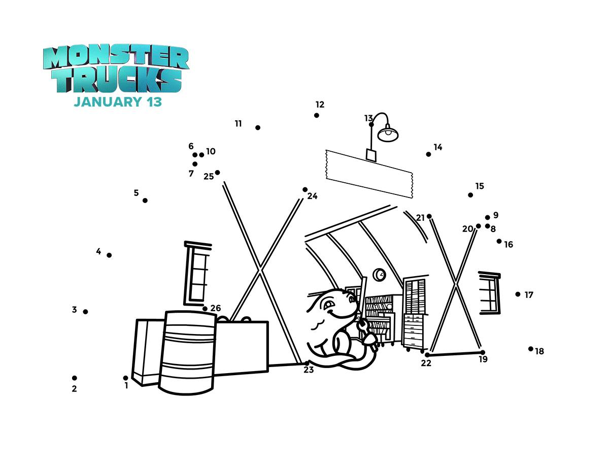 MONSTER TRUCKS- New Clips, Games and Activities #