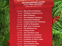 Hallmark Channel's 2017 Countdown to Christmas Programming ...