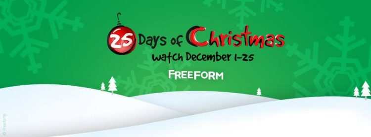fox family channel 25 days of christmas