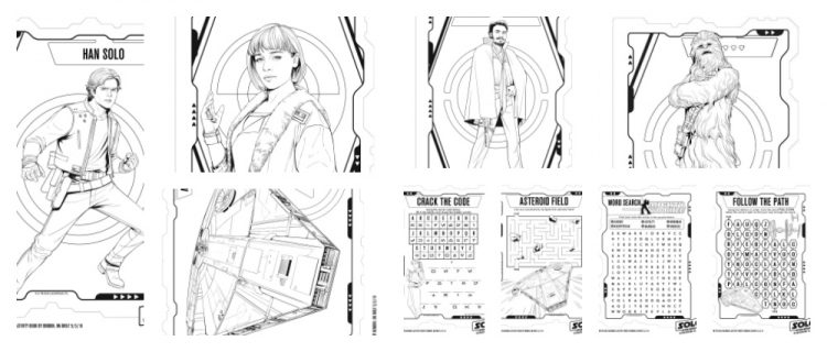 Solo: A Star Wars Story Coloring and Activity Pages #
