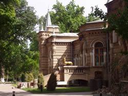 The palace of Prince Romanov in Tashkent