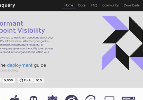 OSquery Tool available for Windows OS