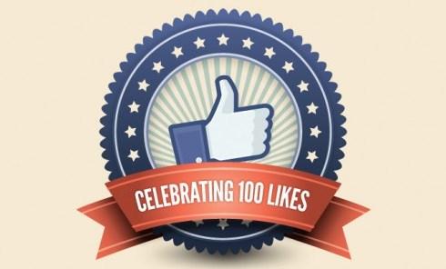100 facebook likes!