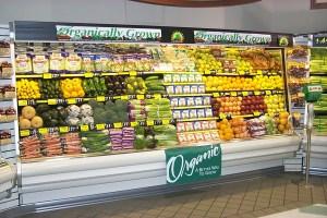 organically grown produce