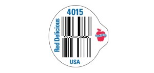bar code for red delicious