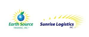 Earth Source Trading INC logo and Sunrise Logistics INC logo
