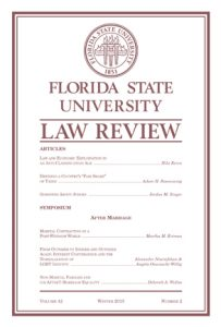 Image result for florida state law review