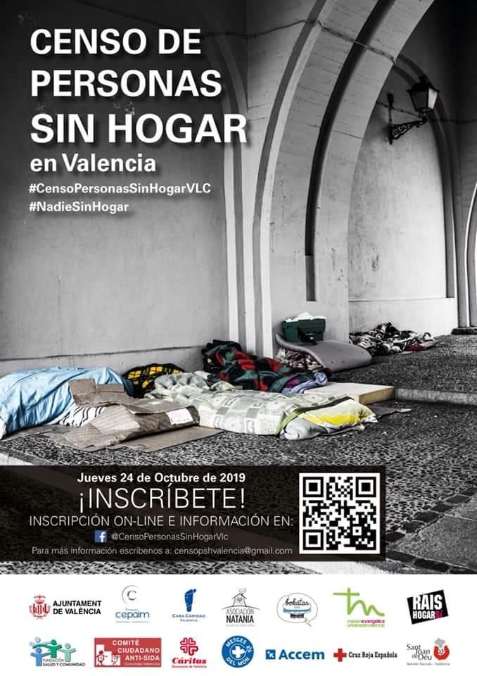 La Fundació Salut i Comunitat col·labora amb altres entitats per crear un cens de persones sense llar a València