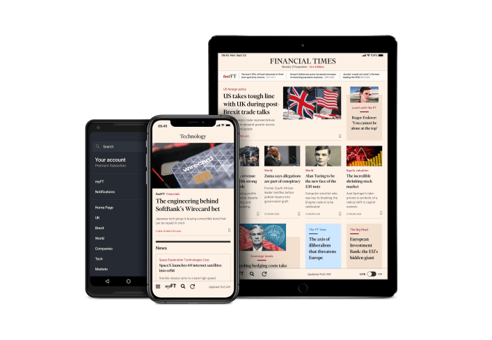 our apps for android and ios — ft.com | financial times