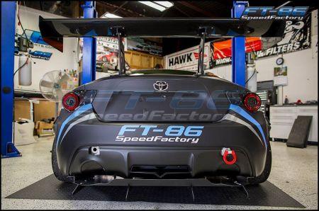 verus aggressive rear diffuser 2013 fr s brz 86