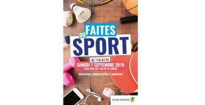 Faîtes du Sport (inscriptions possibles) @ Salle Jean Zay